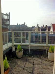 East Amsterdam apartment rental - terrace