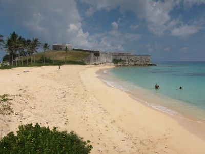 Bermuda apartment rental - St Catherine's Beach, St George's
