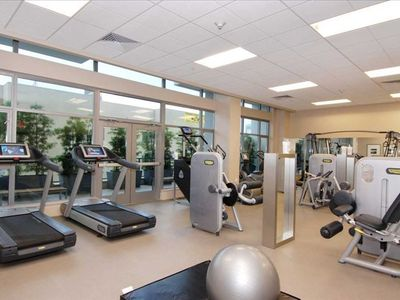 State of the Art Gym- TVs on All Cardio Machines, Weight Machines, Free Weights