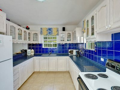 Holetown villa rental - Open Plan Kitchen
