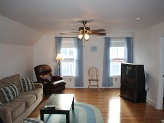 York Beach apartment photo - Living area is a great place for families and couples to enjoy alike