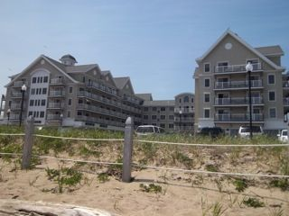 Old Orchard Beach condo photo - View of the Building from the Beach