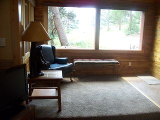 Estes Park cabin photo - Entry in the smaller cabin