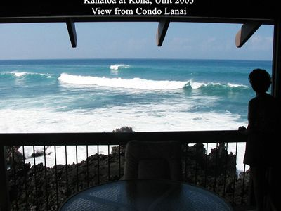 View - Kanaloa at Kona, Condo 2003
