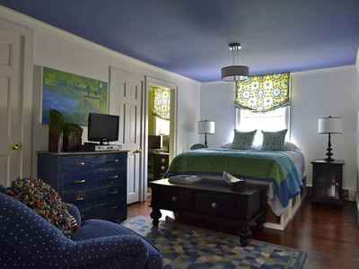 Skaneateles Lake, Skaneateles house rental - 2nd bedroom with private bath and small office.