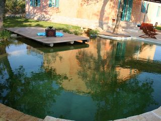Barban villa photo - Biopool with the view on the house