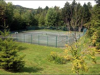 Stowe townhome photo - Summer-Use Tennis Courts
