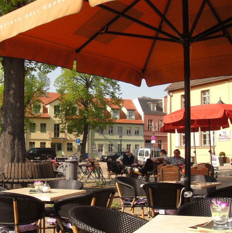 Quiet apartment with balcony and garden, a few minutes to water - Wohnung 'Havel'