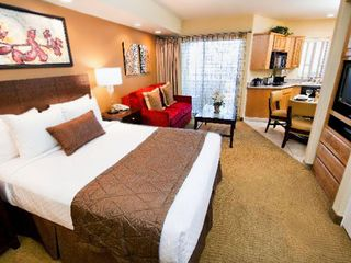 Sedona condo photo - Master Bedroom of One Bedroom Unit at the Ridge on Sedona Golf Resort