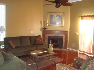 Orange Beach townhome photo - Beautifully Decorated Living Room!