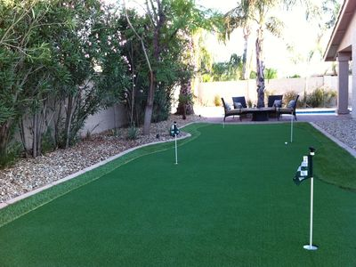 New putting green!