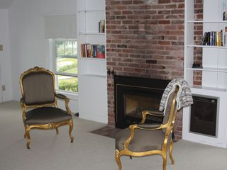 Gloucester - Annisquam house photo - A gas fireplace in one of the second floor bedrooms.