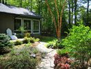 Front of Cottage with Private Patio - Saugatuck / Douglas house vacation rental photo