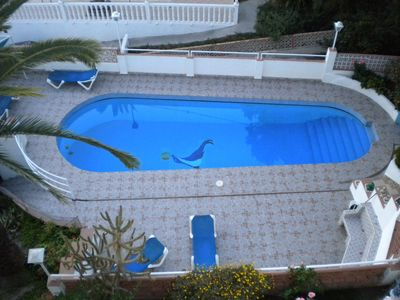 Appartment Casa Inge Caleta de Velez - Der Pool