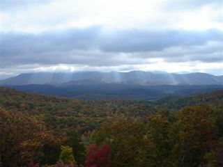 Ellijay cabin photo - What a heavenly view from the Stargazer, it doesn't get any better then this!