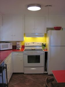 LPM Kitchen Appliances include: Range, Refrigerator, Washer, Dryer, Microwave.