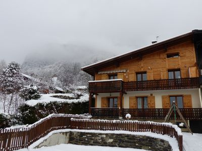 Apartment rental in a renovated farm 15 min away from the slopes