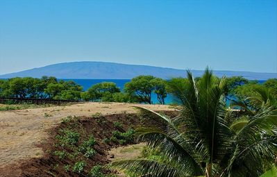 View of the island of Lanai from your own private lanai.