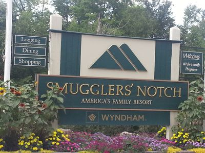 Smuggler's Notch 3 Bedroom Ground Level Condo with 2 Bathrooms in the Village
