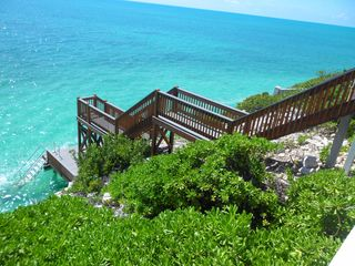 Providenciales - Provo villa photo - Dock down to the ocean