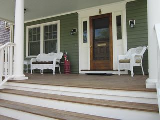 Newport house photo - Entry Steps and Front Porch