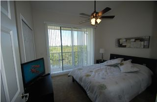 Tampa townhome photo - Master bedroom 1 Large queen bed, Lcd-Tv, balcony w. view of Tampa Bay,