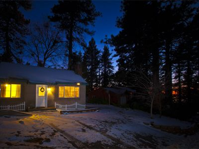 Vacation Rental Lake Arrowhead Snow Valley Beautiful Sunset