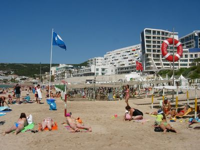 Sesimbra Beach uses to have a Blue Flag (Clean & Healthy)