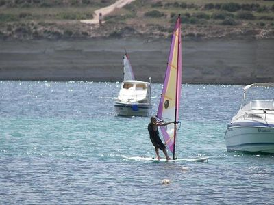 Wind Surfing - St. Thomas Bay