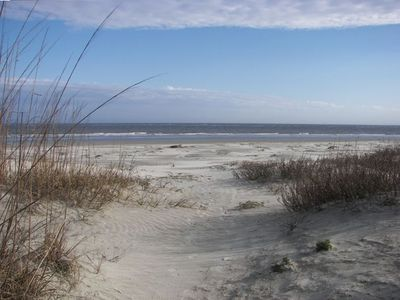 Peaceful Seabrook Island beaches