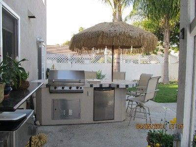 Grill dinner on our large stainless steel BBQ large enough to cook for a party!