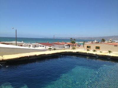 Rosarito Beach estate rental - Huge custom Jacuzzi with Panoramic Ocean Views of Calafia Point.