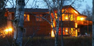 Lutsen lodge photo - Grand Retreat at dusk