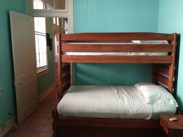 Bedroom 2 w/ triple Bunk- 2 doubles & a single...sleeps 5.
