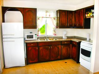 Bocas del Toro condo photo - Fully equipped kitchen