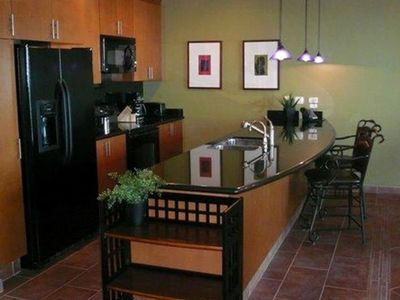 Kitchen - fully equipped and has filtered water system   ice maker.