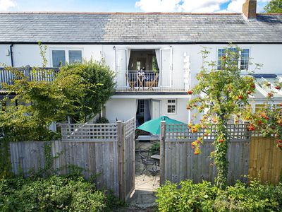 Ropewalk Cottage Lymington by river mouth & views Isle of Wight. Parking