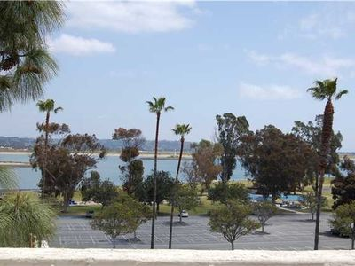 Gorgeous View of Mission Bay and Surrounding Parks from the Living Area and Deck