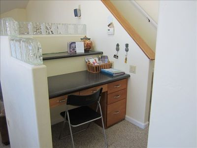 Desk Area in Kitchen