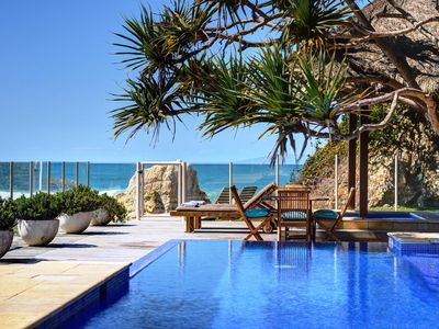 Australia's Number 1 Vacation Rental: Step directly on to the warm beach sand