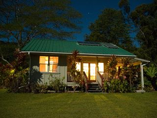 Wood Valley Pahala cottage photo - Romance under an amazing starlit sky!