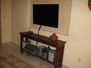San Jose del Cabo condo photo - 40 inch High Def. Sony TV in living room
