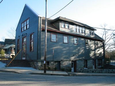 Walk to downtown Asheville from renovated Historic Church, Historic Montford