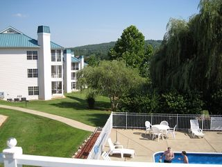 Branson condo photo - View of Meadow Brook pool, grounds
