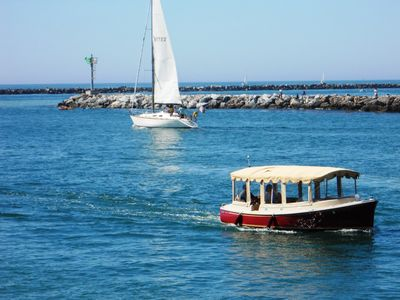 Rent electric boats or go sailing!