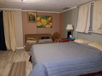 Private Spacious basement Studio in Fort Totten