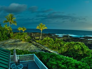 Kailua Kona house photo - Enjoy morning coffee and evening sunsets from your private Lanai.