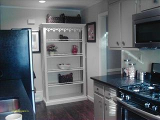Atlanta house photo - Stainless kitchen with granite countertops.