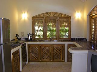 Las Terrenas villa photo - Kitchen, large spaces and fully equipped