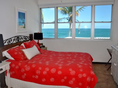 Dorado house rental - 2nd floor bedroom/Queen Bed/ Private Bathroom/AC/ Atlantic Ocean View
